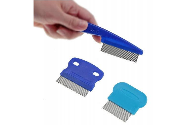 Laicol Set of 3 Tear Stain Remover Combs for Dogs