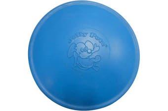 (24cm , Blue) - Jolly Pets Jolly Flyer Rubber Floating Disc