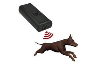 Unetox Ultrasonic Dog Pet Repeller Training Aid Stop Barking Handheld Dog Deterrent Device with Flashlight