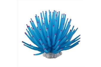 Aquarium Fish Tank Sea Artificial Fake Coral Ornament Decoration Blue