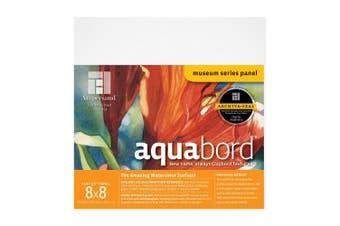 (8X8, 1/8 Inch Depth) - Ampersand Aquabord Panel for Watercolour and Gouache, . cm Depth, 20cm X 20cm (CBT088)