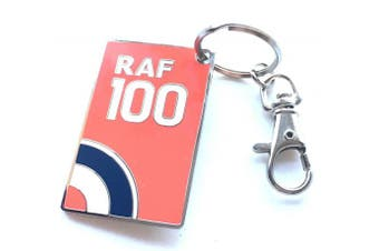 RAF Royal Air Force 100 Years Official Commemorative Key Ring in Gift Bag