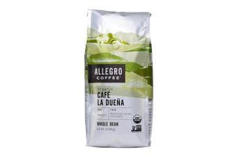 Allegro Coffee Organic Cafe La Duena Whole Bean Coffee, 350ml