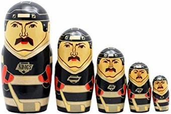 Los Angeles Kings Russian Nesting Dolls Set of 5