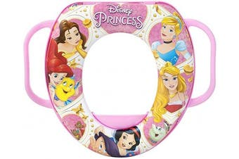 lulabi 7994 Disney Princess Soft Toilet Trainer Seat, Multi-Colour