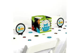 Monster Bash - Little Monster Birthday Party or Baby Shower Centrepiece & Table Decoration Kit