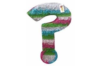 Fiesta Theme Question Mark Pull Strings Pinata