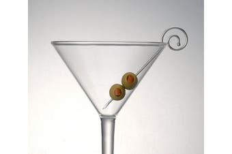 Prodyne MP-1 Spiral Martini Picks Stainless Steel, Silver