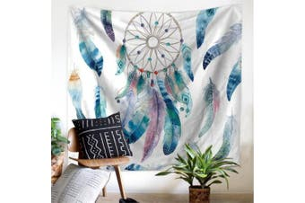 (S/130cm  x 150cm , 3#dreamcatcher) - DIPPERION DreamCatcher Tapestry Wall Hanging Dream Catcher Wall Tapestry Hippie Tapestry Colourful Tapestry Psychedelic Bohemian Feather Wall Tapestry for Bedroom Decor