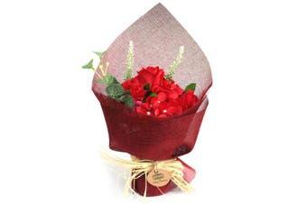 Ancient Wisdom Soap Flower Bouquets - Red