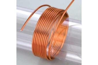 (Orange) - EFCO 2 mm x 5 m 42 g Approximately Aluminium Anodised Wire, Orange