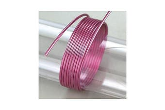 (Purple) - EFCO 2 mm x 5 m 42 g Approximately Aluminium Anodised Wire, Mauve