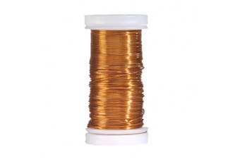 EFCO 0.5 mm x 25 m Coloured Copper Wire, Orange
