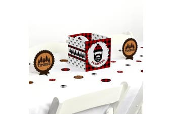 Lumberjack - Channel The Flannel - Buffalo Plaid Party Centrepiece & Table Decoration Kit