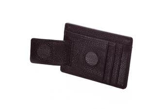 (dark brown) - DonDon Money Clip, dark brown (brown) - GLD51