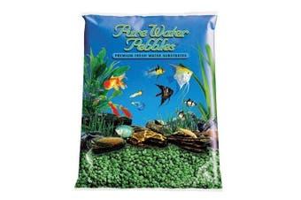 (emeraldgreen) - Pure Water Pebbles Aquarium Gravel, 0.9kg, Emerald Green