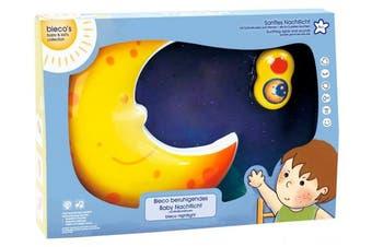 Bieco 04052657 Musical Nightlight Moon – 33 x 22 x 5 cm