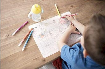 Badabulle B005700 Washable Colouring Placemat