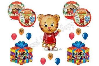 XL DANIEL TIGER'S neighbourhood 14 pc. Birthday Party Balloons Decoration Supplies