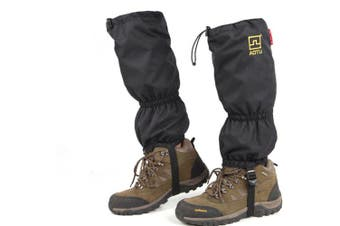 Outdoor Hiking Leg Gaiters Climbing Skiing Snow Shoe Cover Waterproof Boot Cover