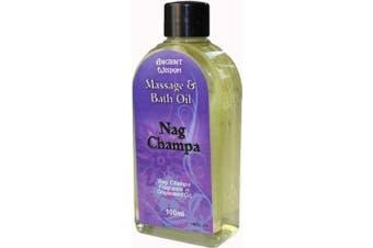 (Nag Champa) - FUTURE INSIGHTS® 100ml Aromatherapy MASSAGE OIL & BATH OIL Nag Champa (NAG CHAMPA Fragrance)