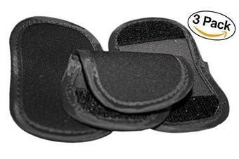 (3 Piece - Pot Handle Holder, Black) - LAMINET Pot Handle Holder - 3 Pieces - BLACK