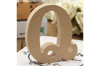 (Q) - bjduck99 Craft Wooden Letters A-Z Alphabet Hanging Wedding Bridal Party Home Ornament