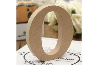 (O) - bjduck99 Craft Wooden Letters A-Z Alphabet Hanging Wedding Bridal Party Home Ornament