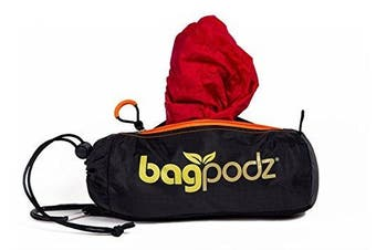 BagPodz Reusable Bag and Storage System - Cayenne Red (Contains 10 Bags)