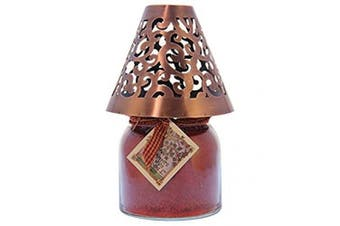 (Copper, Victorian) - A Cheerful Giver Victorian Candle Shade, Copper