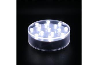 (10cm  Round) - ARDUX Light Plate 10cm Round-15 LED Lights Battery Powered Pedestal Base (10cm Round)