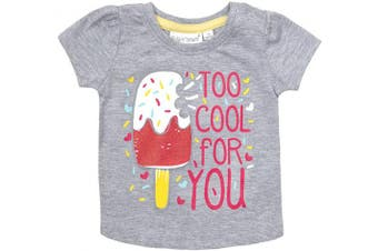 (18-24 Months, Multibuy (All Styles)) - BABY TOWN Baby Girls Printed T-Shirts (Multibuy Options) Cotton Rich Novelty Top