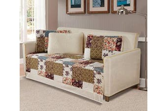 (Milano) - Fancy Collection 5pc Day Bed Quilted Coverlet Daybed Set New (Milano)
