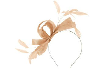 (Cameo) - Failsworth Millinery Wide Loops Fascinator
