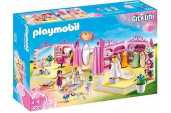Playmobil 9226 City Life Bridal Shop - Hair and Clothes