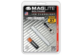 (Silver) - Maglite Solitaire LED 1-Cell AAA Flashlight Silver