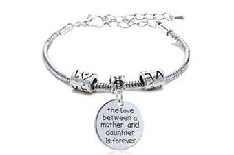 Mother Daughter Bracelets Family Gifts Jewellery Women Girl - The Love Between Mother and Daughter Is Forever