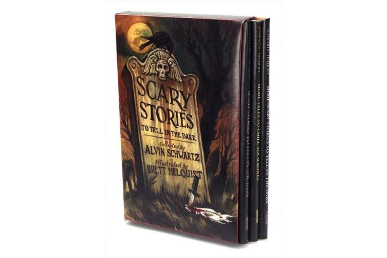 Scary Stories Box Set: Scary Stories, More Scary Stories, and Scary Stories 3 (Scary Stories)