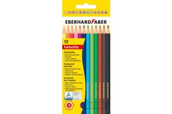 (Pack of 1) - Eberhard Faber Coloured Pencils, Box of 12 (514812)