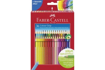 Faber-Castell 36 Colour Grip Pencil