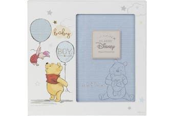 (Pooh Baby Boy) - Disney Magical Beginnings MDF 10cm x 15cm Photo Frame Pooh Baby Boy DI416