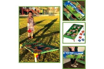 (Animal) - Adorox Bean Bag Toss Game Set Animal Zoo Jungle Theme Parties