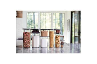 (Open Stock, Cereal (19.9 Cup)) - Rubbermaid Brilliance Pantry Airtight Food Storage Container, BPA-Free Plastic, 19.9 Cup