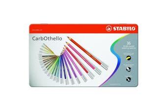 STABILO CarbOthello Metalen Etui, 36st.