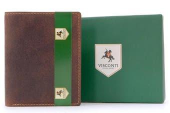 (Oil Tan) - Visconti Wallet - 705 Arrow - Hunter Leather