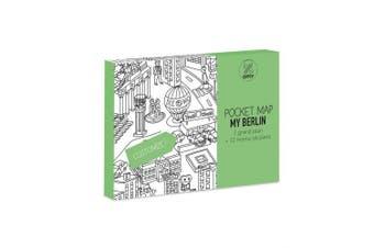 OMY Berlin Pocket Map, Paper, Multi-Colour