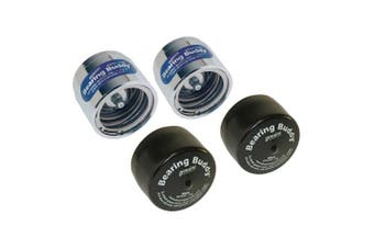Bearing Buddy Chrome Bearing Protectors (1.980) With Bras - Pair