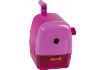 (pink) - Brunnen 102987226 Crank Pencil Sharpener Colour Code, Thick and Thin, 60 x 110
