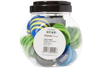 "(Dark Blue & Yellow) - Swordfish ""Beehive"" Pencil Sharpener (Tub of 10)"