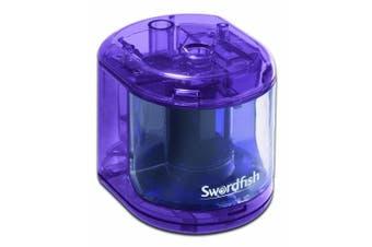 (Scribbler) - Swordfish 'Scribbler' Battery Powered Desktop Pencil Sharpener 8mm Ref 40003